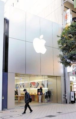 25日に閉店する「Apple仙台一番町」(8日、仙台市青葉区で)