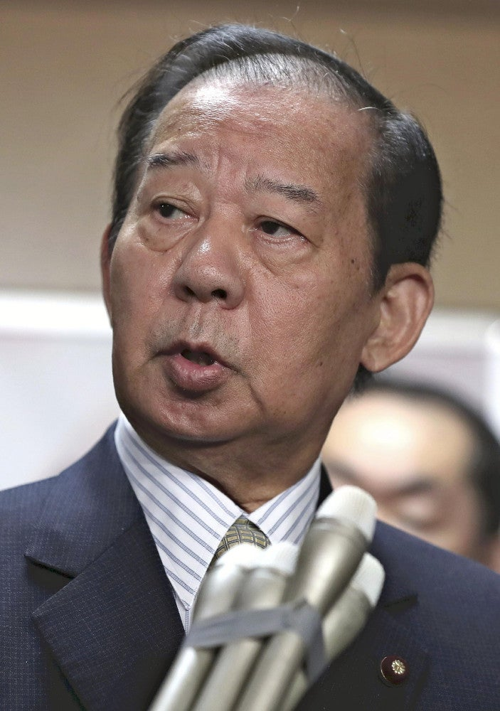 二階幹事長、大阪での敗北「謙虚に受け止める」