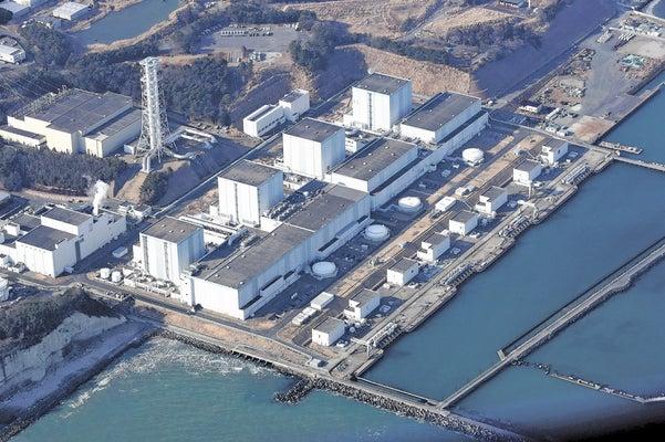 東電が廃炉を表明した福島第二原発(2018年2月、読売機から)