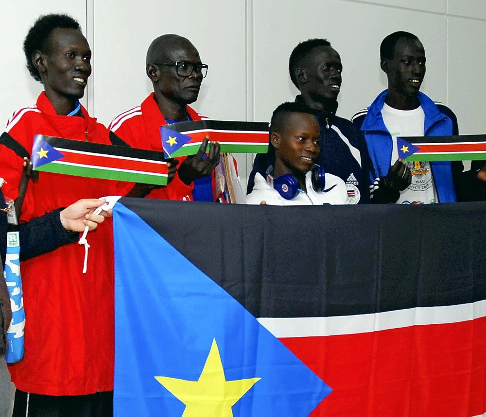 「南スーダンマラソン」の画像検索結果