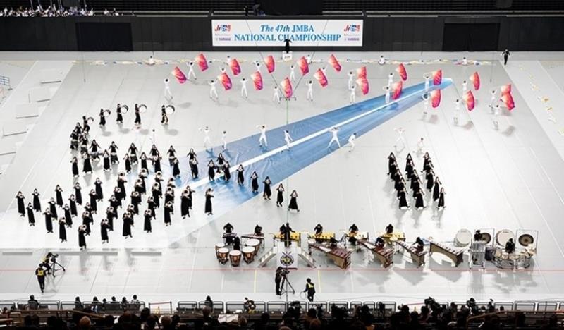 高校マーチングバンド部、全国大会でグランプリ…埼玉栄