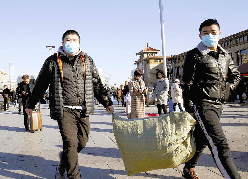中国 マスク