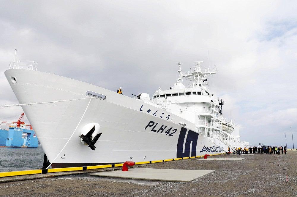 大型巡視船が初入港 鹿児島港 : ニュース : 鹿児島 : 地域 : ニュース ...