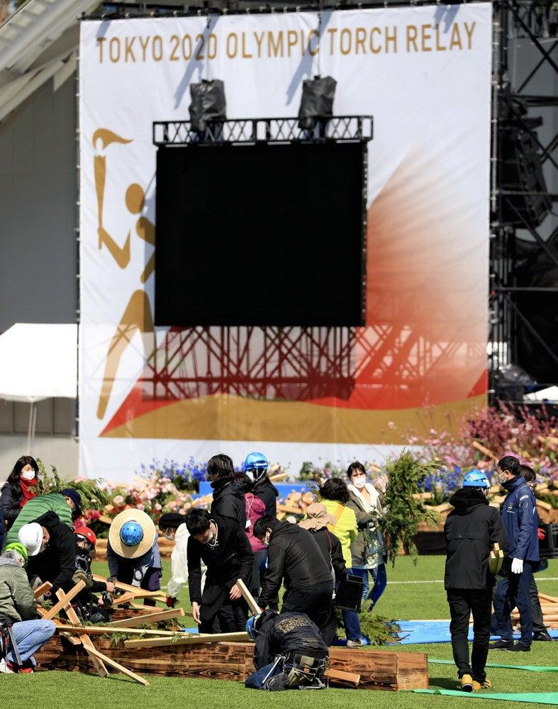 福島 聖火 ランナー