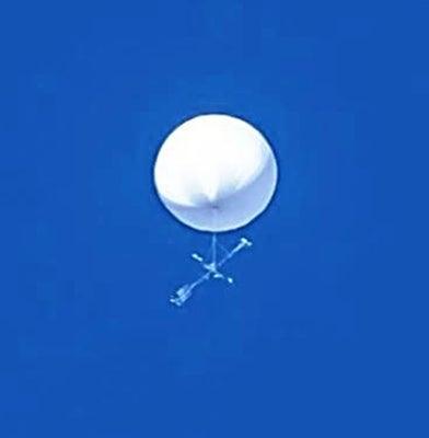 正体不明の浮遊する白い球状物体、東北の広範囲で目撃
