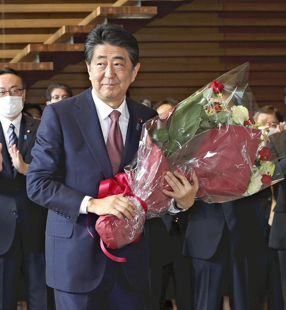 安倍内閣が総辞職「全力尽くしてチャレンジ、私の誇り」 : 政治 ...