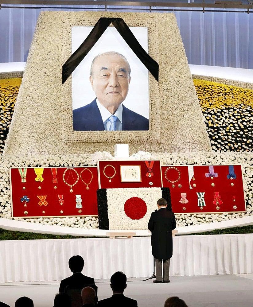 元 総理 中曽根 写真で偲ぶ故中曽根元総理