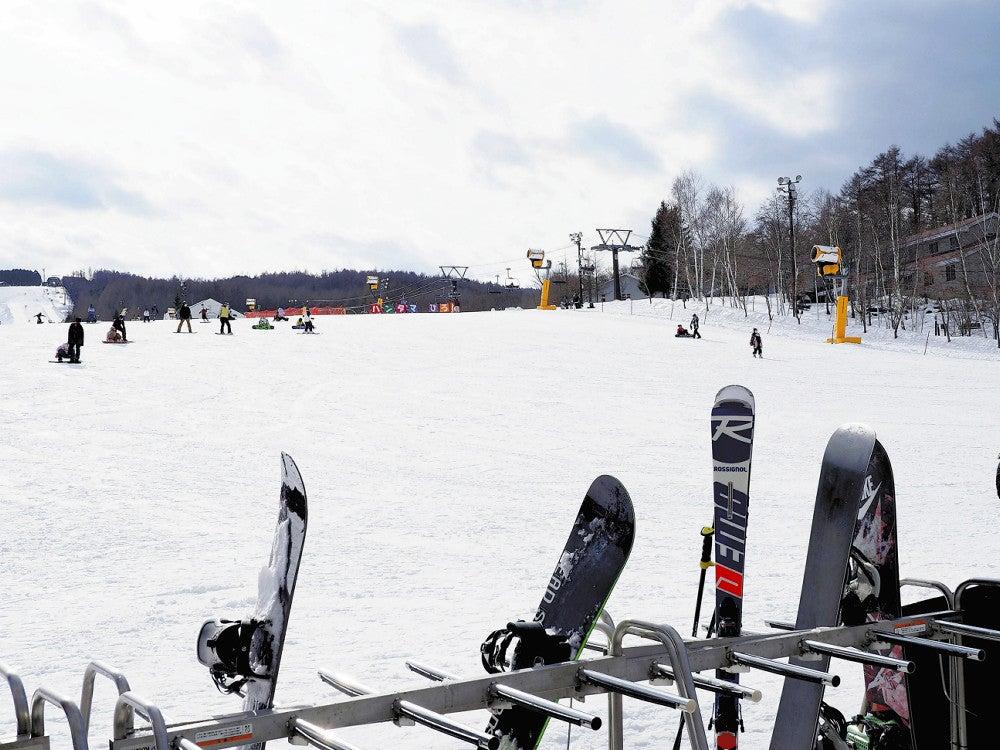 スキー場は客が半減「今年は雪質がいいのに残念」 : 経済 : ニュース ...