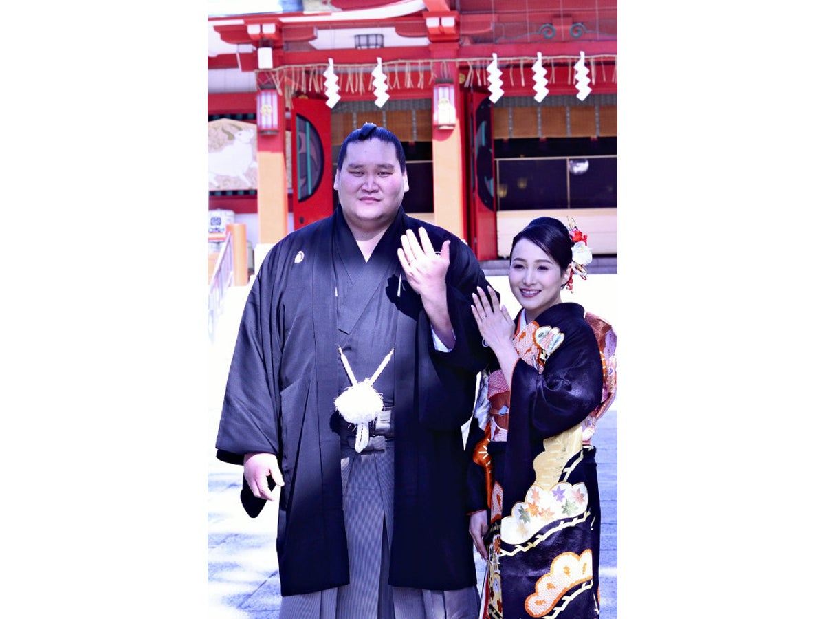 照 ノ 富士 結婚