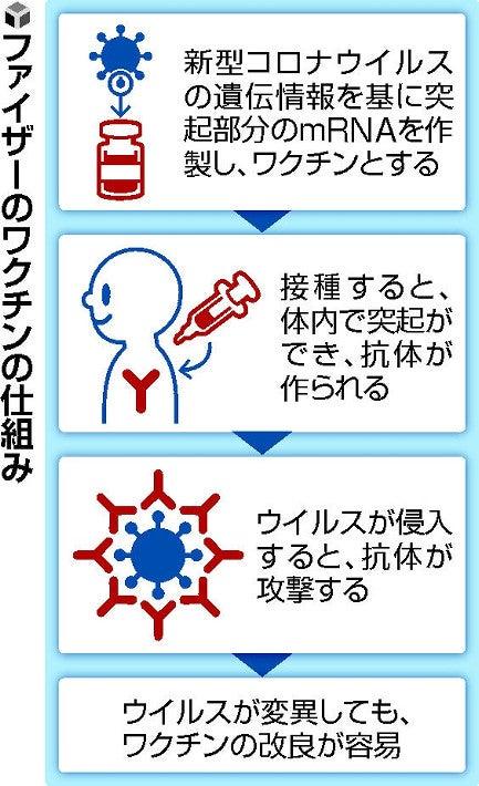 ファイザー 新型 コロナ ウイルス ワクチン