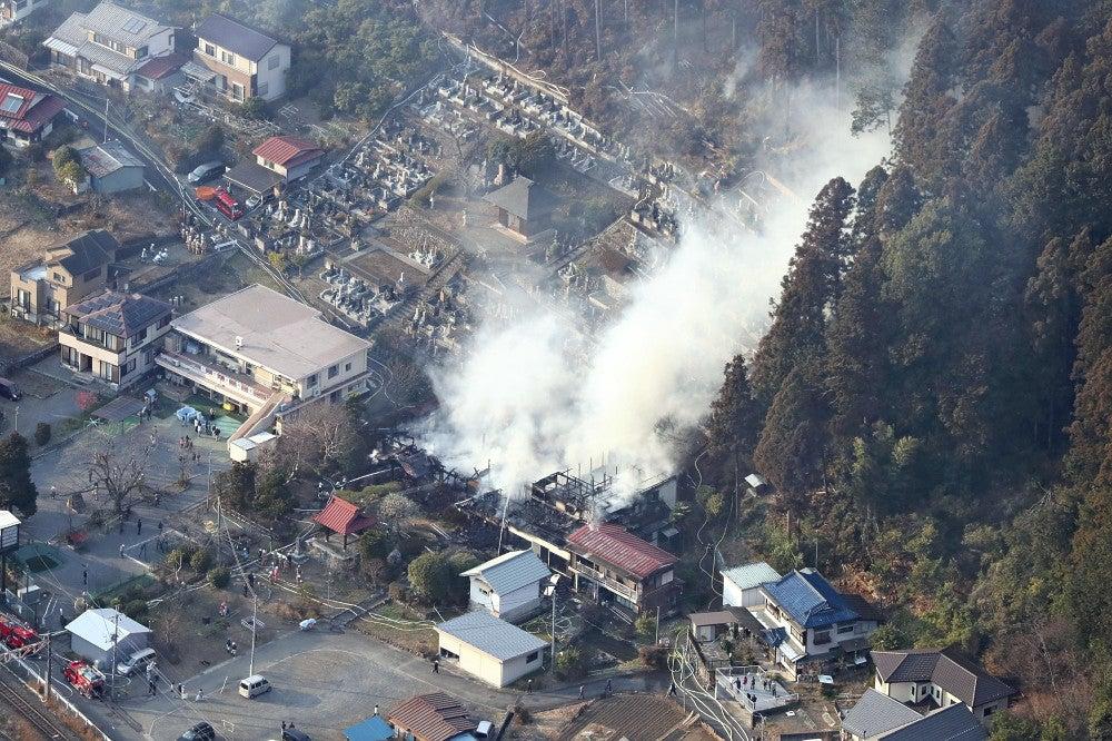 青梅 市 火災 東京・青梅の山火事、27時間後にようやく鎮火たき火が原因か