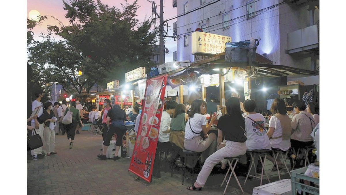 4連休 にぎわう福岡…県境越え移動 感染拡大懸念も : ニュース : 九州発 : 地域