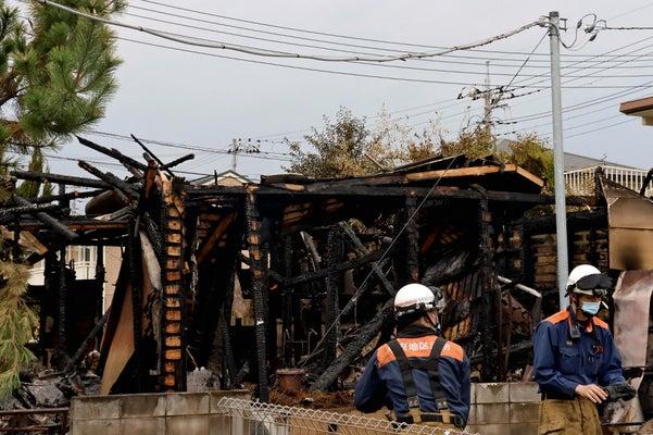【 甲府の2人死亡火災】傷害容疑で19歳少年逮捕 放火ほのめかす供述